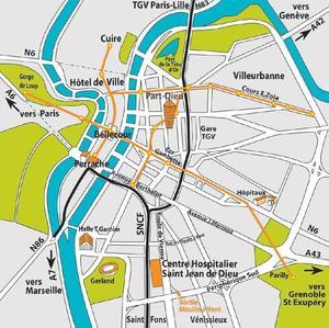 site plan q gratuit Lyon